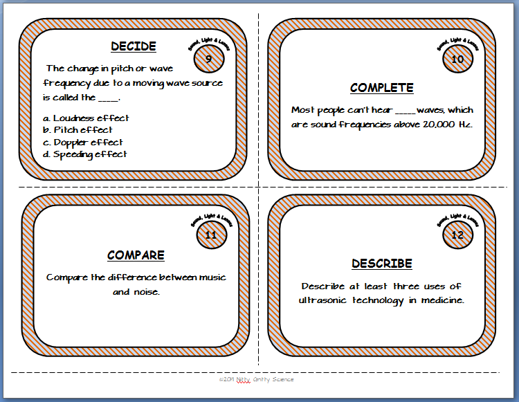task+card+sample - Using Task Cards for End of Year Review